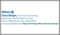 Allianz Claus Bürger