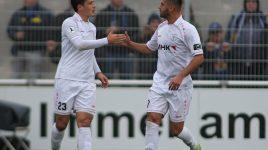 Der SC Hessen Dreieich erkämpft sich einen Punkt gegen Saarbrücken