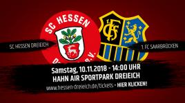 Fan-Informationen zum Heimspiel gegen den 1. FC Saarbrücken