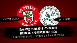Fan-Informationen zum Heim-Testspiel gegen den SV Zeilsheim