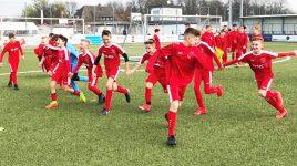 Wichtige Punkte im Aufstiegsrennen: U12 schlägt Kickers Obertshausen mit 4:0