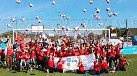 Strahlender Sonnenschein, Spaß und Spiel: Das ASB Lehrerkooperative-Fußballcamp 2019