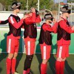 """""""Neue Sporterfahrung"""" beim SC Hessen Dreieich: U19 gewinnt beim Blindenfußball-Training neue Eindrücke"""