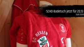 Sommer-Angebot: SCHD-Badetuch für 20,13 €