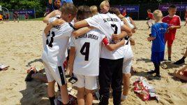 U10 und U11 krönen erfolgreiches Beachsoccer-Wochenende