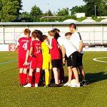 Dreierpack ebnet den Weg zum Halbfinale: U13 bezwingt den Karbener SV mit 4:1