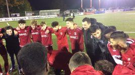 U19 gewinnt Spitzenspiel nach starkem Kampf mit 3:2