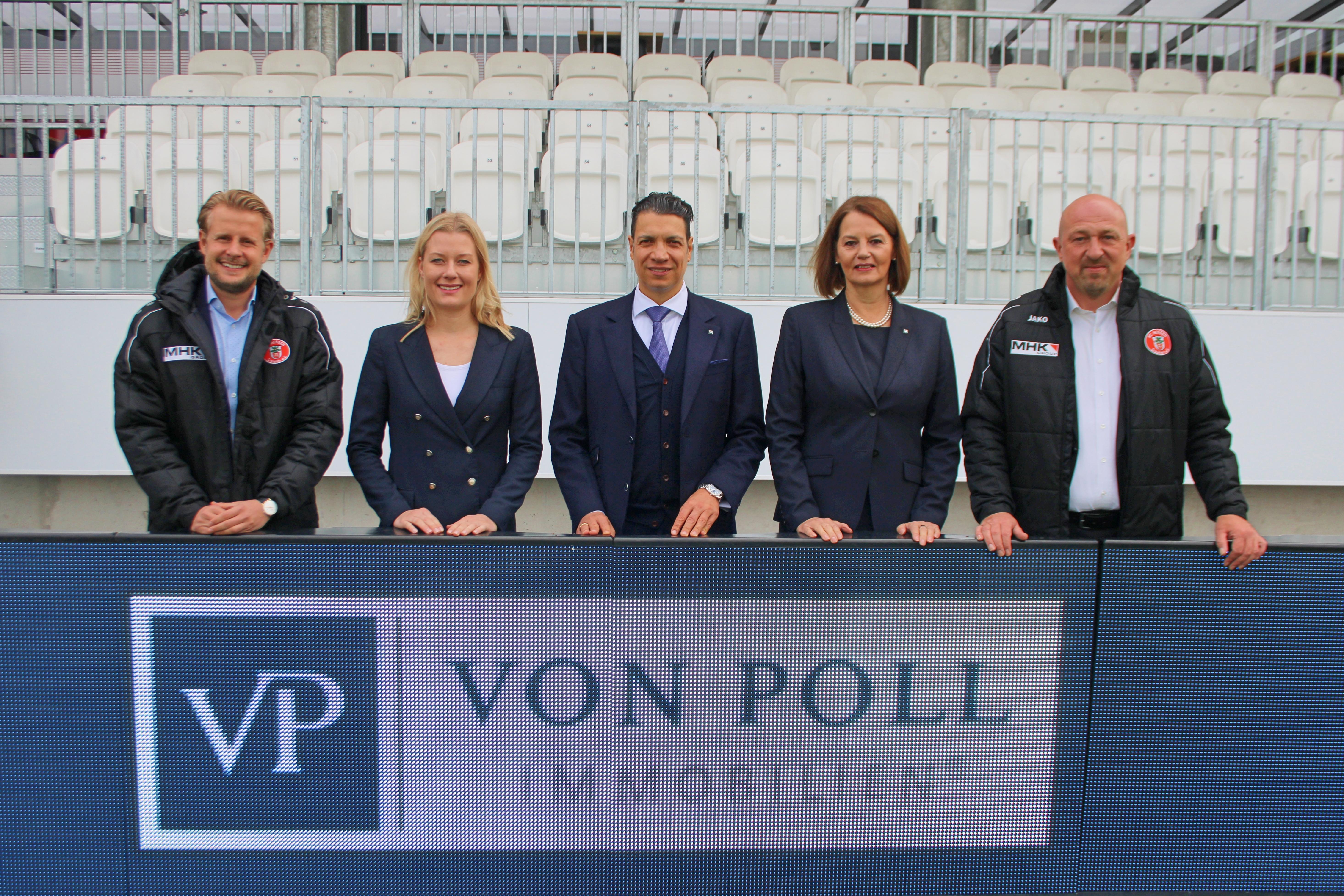 v.l.n.r.: Dennis Schemel, Sabine Trippel, Sassan Hilgendorf, Claudia Breforth, Sascha Schnobrich