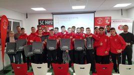 Berufliche Perspektiven aufgezeigt – U17 und U19 bei ALDI Bewerbertraining
