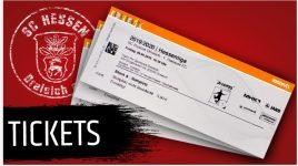 Einzelkarten für Heimspiele des SC Hessen Dreieich im freien Verkauf