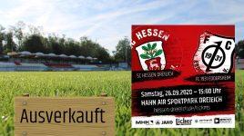Ausverkauftes Haus gegen den FC Eddersheim