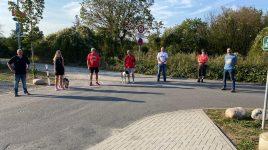 Losgelaufen und zu Fuß 28km in 52 Minuten geschafft…