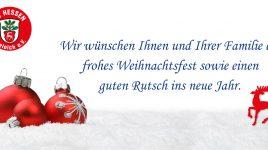Frohe Weihnachten – Festtagsgrüße vom SC Hessen Dreieich