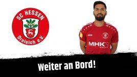 Abassin Alikhil verlängert beim SC Hessen