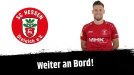 Torjäger Leon Burggraf verlängert in Dreieich