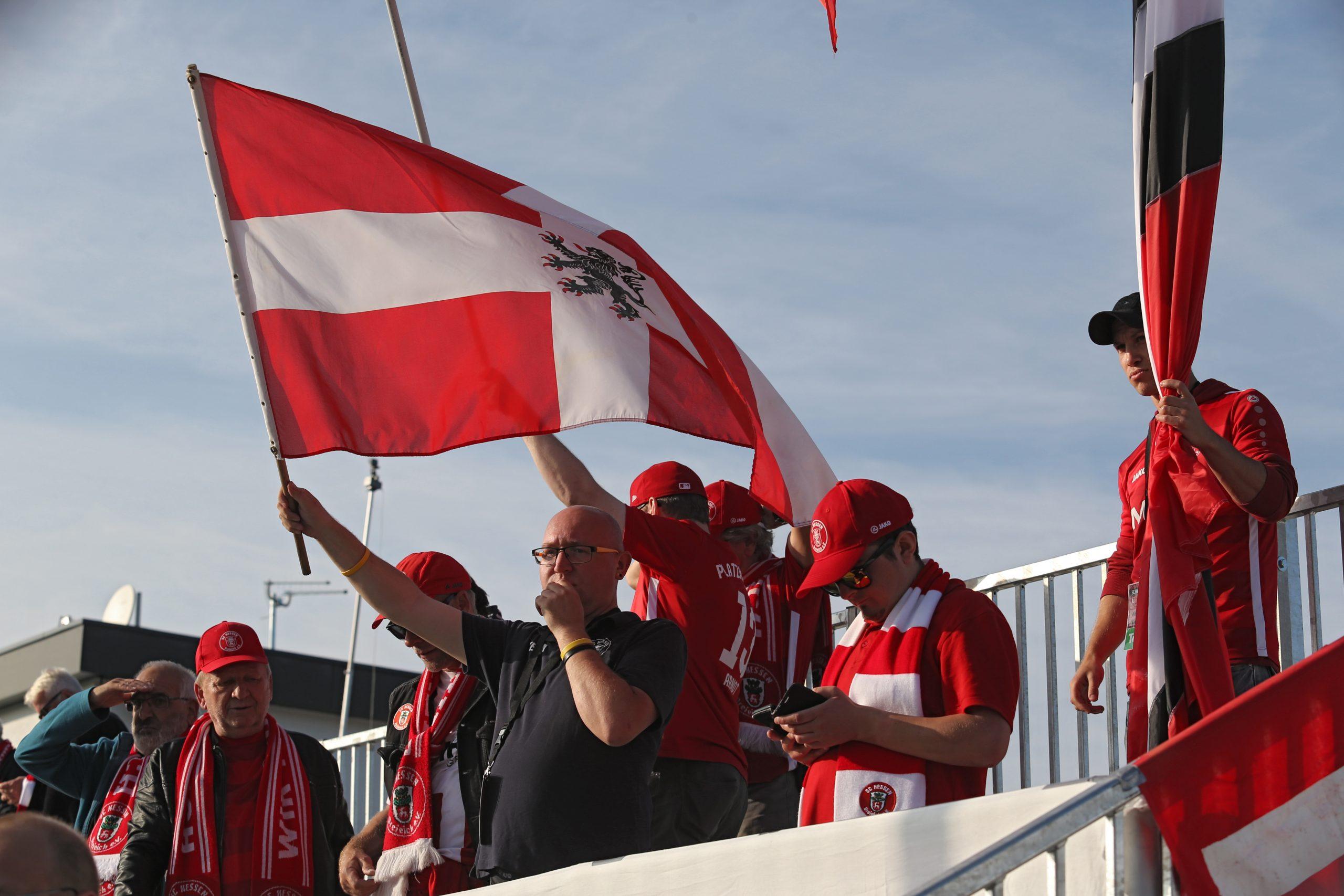 Fans des SC Hessen Dreieich