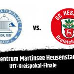 U17 im Kreispokal-Finale gegen Tempelsee gefordert